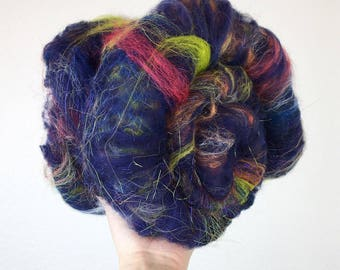 City Lights - Wool Art Batt 2.5oz