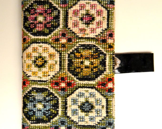 Classic 1960's  TAPESTRY PURSE