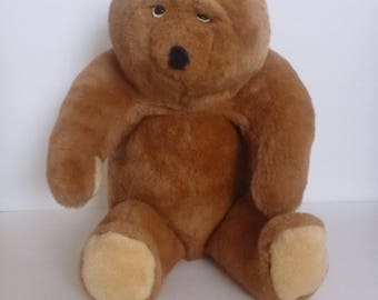 Animal Fair Inc plush teddy bear. stuffed animal. brown teddy bear. bear stuffed toy. plush teddy bear