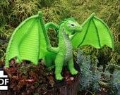 DIGITAL PDF Add-On Dragon Pattern: Epic Extra Large Wings