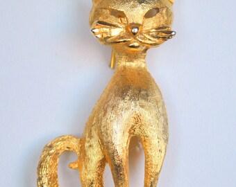 BSK Siamese Cat Brooch