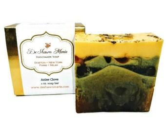 SOAP Anise Clove Soap, Handmade Soap, Vegan Soap, Natural Soap, Soap for Men, Spice Soap, Glycerin Soap, Christmas Gift, Soap Gift, Favors