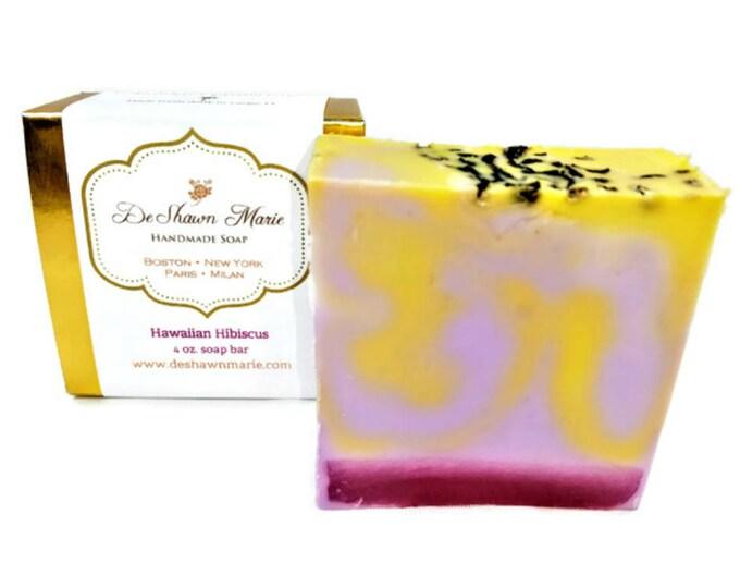 Hawaiian Hibiscus Handmade Soap