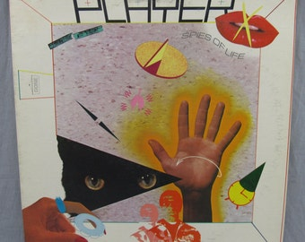 "Player Spies of Life Record Vintage 12"" Vinyl LP Album 1981 Tuneworks Records VG+"