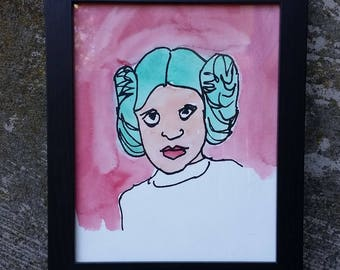 Princess Leia (Framed)