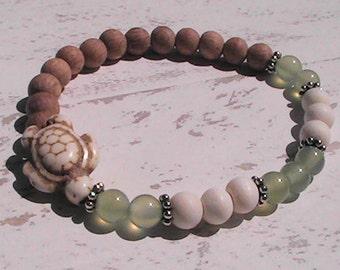 diffuser bracelet. wood diffuser beaded bracelet. gemstone bracelet.handcrafted jewelry.