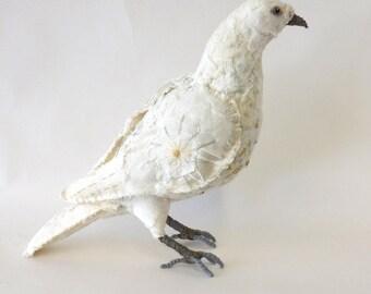 Dove textile bird