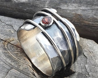 Sterling Silver Gemstone Ring Handmade By Wild Prairie Silver Jewelry stone of your choice