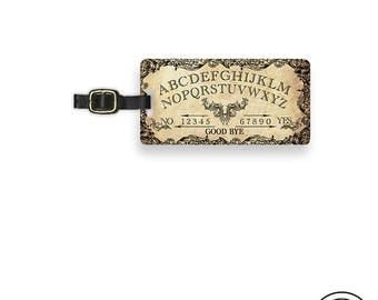 Luggage Tag Victorian Style Spirit Board Metal Luggage Tag  With Printed Custom Info On Back Single Tag
