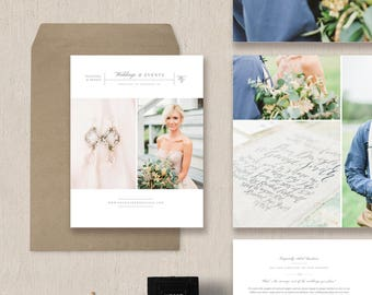 Wedding Magazine Template for Photographers & Planners - Photography Pricing Template - Marketing Templates - Design by Bittersweet