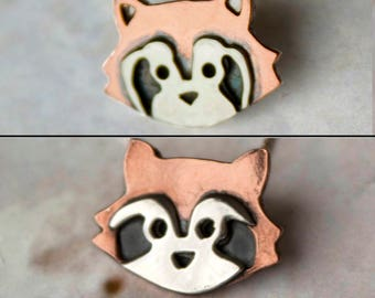 Handmade Red Panda Necklace