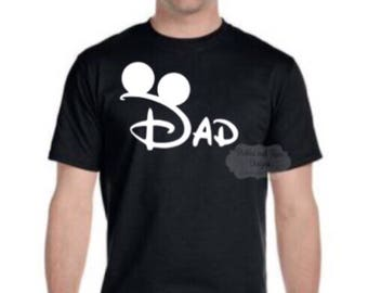 Men's Disney Dad Tee // Disney Trip // Disney family vacation // Disney Husband // Disney Shirt