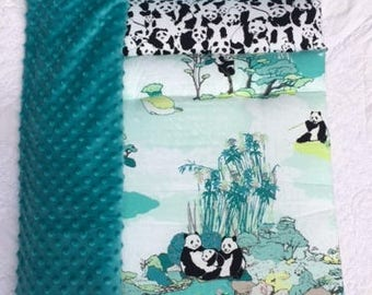 Panda Family! by Janiebee  Day Care Nap Mat, Boutique Nap Mat, Thickest Machine Washable Napmat