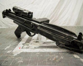 Stormtrooper Blaster Star Wars Bounty Hunter Mando Merc Gun Prop Replica E-11 Blaster Rifle