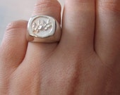 Butterfly ring - Sterling...