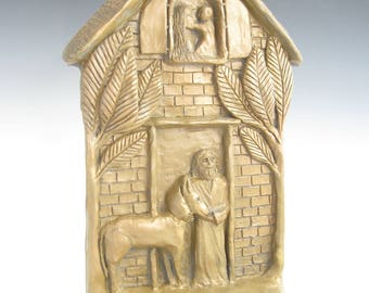 The Holy Family: Patrons/Protectors of Families; Handmade Statue
