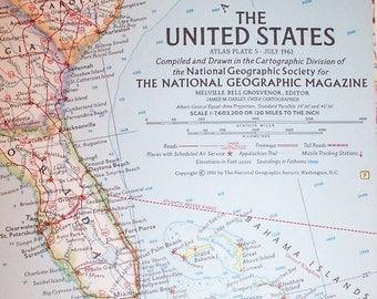 Vintage STANDARD OIL Road And Highway MapWYOMINGRand - 1967 interstate highway map us
