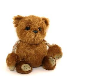Mohair Teddy Bear: Brounie