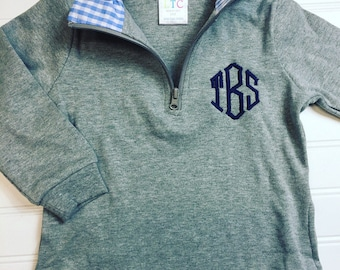 Monogrammed girls pullover, monogrammed boys pullover, monogram toddler sweatshirt,