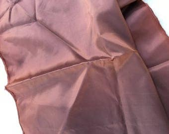 2 yards of acetate lining fabric in fig