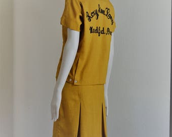 Ladies Vintage Bowling outfit