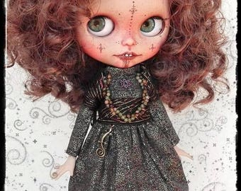 MELINA Algerian girl Blythe custom doll by Antique Shop Dolls