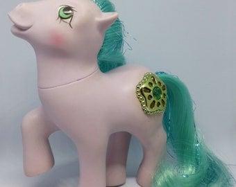 Vintage My Little Pony - Princess Amethyst Sparkle - very good condition