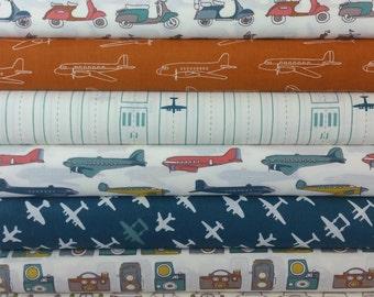 Trans-Pacific ORGANIC FABRIC Bundle from Birch Organic Fabrics (11 Fabrics Total)