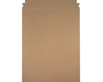 """6"""" x 8"""" - Self Seal Rigid Mailer - 100% Recycled - Case of 100"""