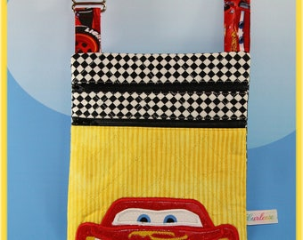 Disney Applique Lightning McQueen Small Cross body Bag