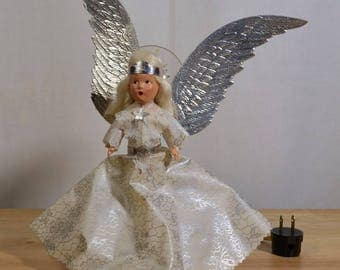 NOMA Lighted Angel Tree Topper