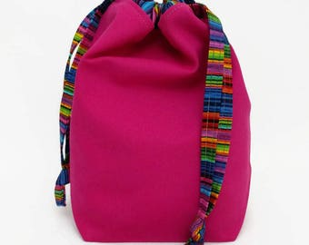 Sock Draw Reversible Canvas Bag - Radiance