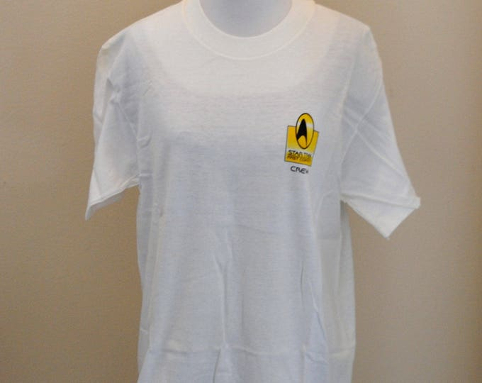 Limited Edition Star Trek Crew Shirt from the movie Star Trek First Contact. Only given to movie Crew Members, 1996