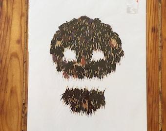 Annette Messager - Head Gloves - Print