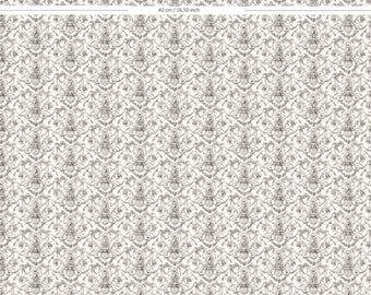"""Papier Peint échelle 1/12 """"La Balançoire""""  - Wallpaper scale 1/12 """"The Swing"""" -"""
