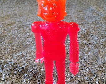 SEA-BORG MUTATION  Wave 2 Plastic Resin Figure - Fall Red and Orange