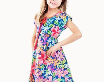Madagascar Cotton Summer Dress