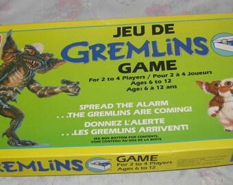 Vintage 1984 Gremlins Board Game Complete - Gizmo/Stripe