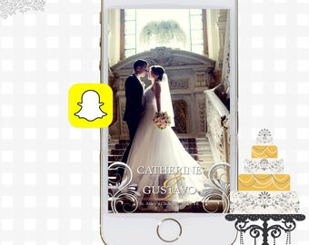 Snapchat GeoFilters, Wedding Snapchat Filters, Snapchat Filter, Wedding Snapchat GeoFilter, Bridal Shower Snapchat, Custom Wedding FIlters