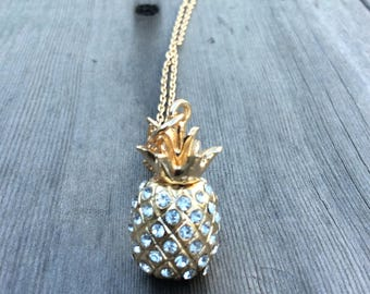 Pineapple Necklace/Modern Necklace/Fruit Necklace/Long Necklace