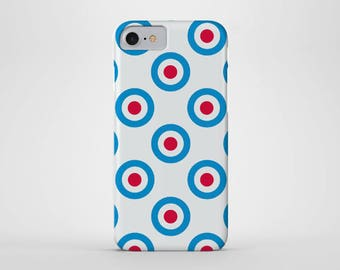 Mod Symbol Phone Case - iPhone and Samsung Galaxy Cases - Mod, London, 50's, Modernist (All Sizes)