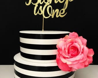 Custom name cake topper, birthday cake topper, age cake topper, first birthday cake topper, personized birthday cake topper