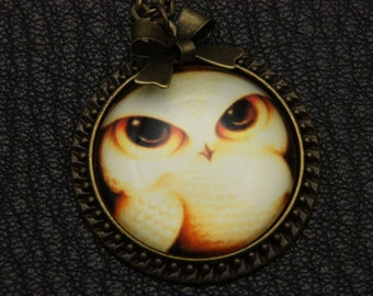 Owl Necklace, 2525C
