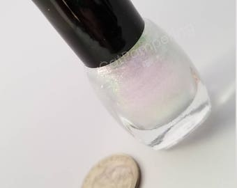 It's So Fluffy- unicorn hologram top coat nail polish