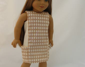 18 Inch Doll Dress A Stitch In My Side Pocket Dress