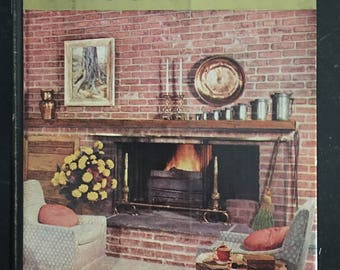 Hard-to-Find Mid-Centry Good Housekeeping Book of Home Decoration - copyright 1957