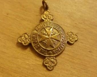 Vintage Bronze St John's Ambulance Medal Fob