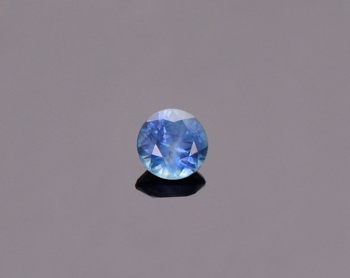 SALE EVENT! Blue Sapphire Gemstone from Montana, Round, 0.54 cts., 4.75 mm.