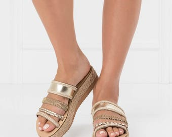 Greek sandals,boho womens sandals,trendy sandals,slip on sandals,boho greek sandals,sandals,ethnic sandals,flatform sandals,gold sandals