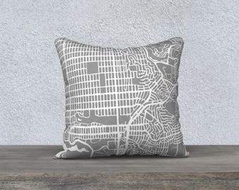 San Francisco SW Map Pillow Cover